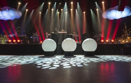 Personeelsfeest Endemol shine studio, Amsterdam
